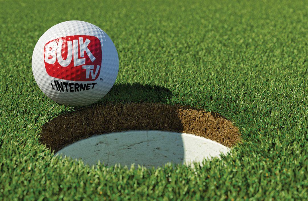 3D Golf Scene